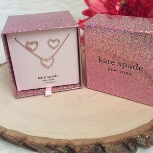 KATE SPADE ♠️ Jewelry boxed set